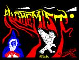 Alchemist by Imagine ZX Spectrum Loading Screen