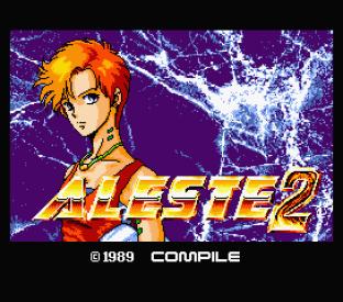 Aleste 2 MSX 01