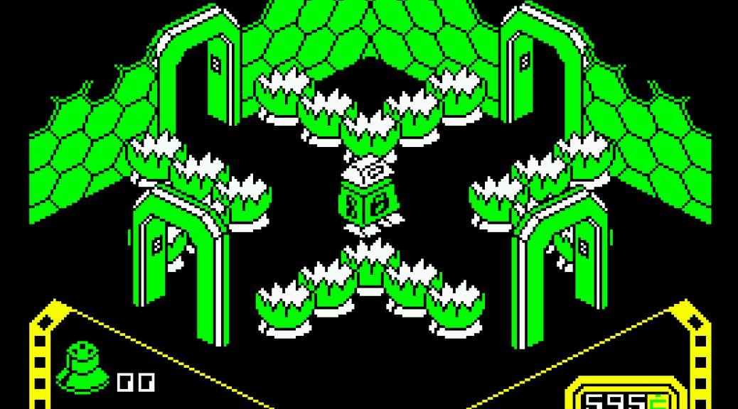 Alien 8 Amstrad CPC