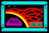 Alien 8 by Ultimate ZX Spectrum Loading Screen