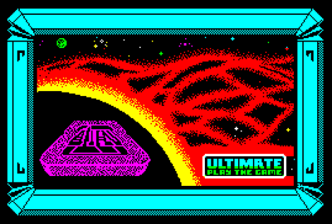 Alien 8 by Ultimate ZX Spectrum Loading Screen