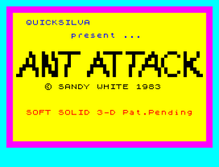 Ant Attack ZX Spectrum 01