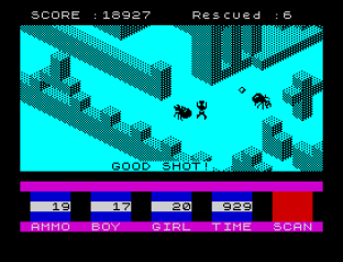 Ant Attack ZX Spectrum 09