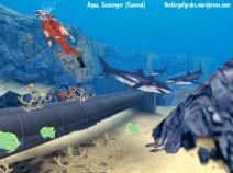 Aqua - canned Scavenger game