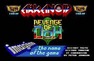 Arkanoid 2 Atari ST 01