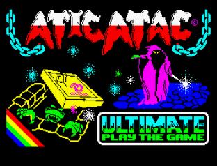 Atic Atac ZX Spectrum 01