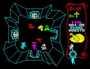 Atic Atac ZX Spectrum 09