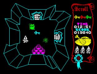 Atic Atac ZX Spectrum 12