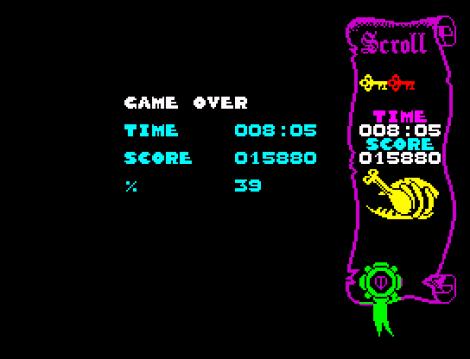 Atic Atac ZX Spectrum 23