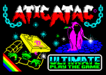 Atic Atac by Ultimate ZX Spectrum Loading Screen