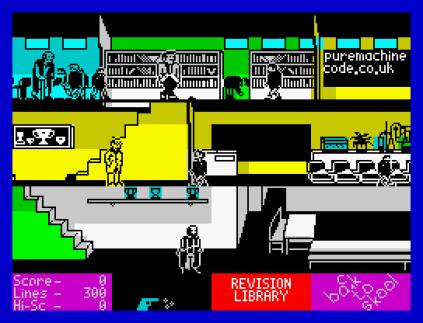 Back To Skool ZX Spectrum 09