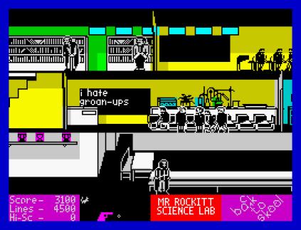 Back To Skool ZX Spectrum 23