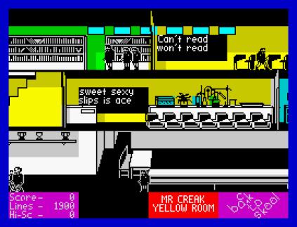 Back To Skool ZX Spectrum 31