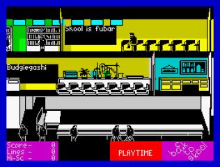 Back To Skool ZX Spectrum 32