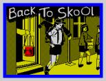 Back To Skool by Microsphere ZX Spectrum Loading Screen