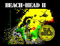 Beach Head 2 ZX Spectrum Loading Screen