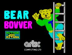 Jon Ritman's Bear Bovver by Artic Computing ZX Spectrum Loading Screen