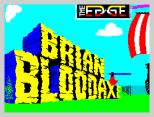 Brian Bloodaxe ZX Spectrum Loading Screen
