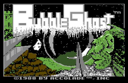 Bubble Ghost Commodore 64