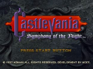 Castlevania - Symphony of the Night PS1 01