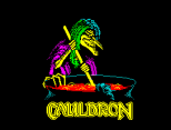 Cauldron by Palace Software ZX Spectrum Loading Screen