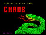 Chaos by Games Workshop ZX Spectrum Loading Screen