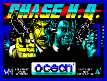 Chase HQ by Ocean ZX Spectrum Loading Screen