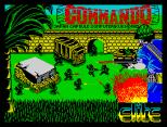Commando by Elite ZX Spectrum Loading Screen