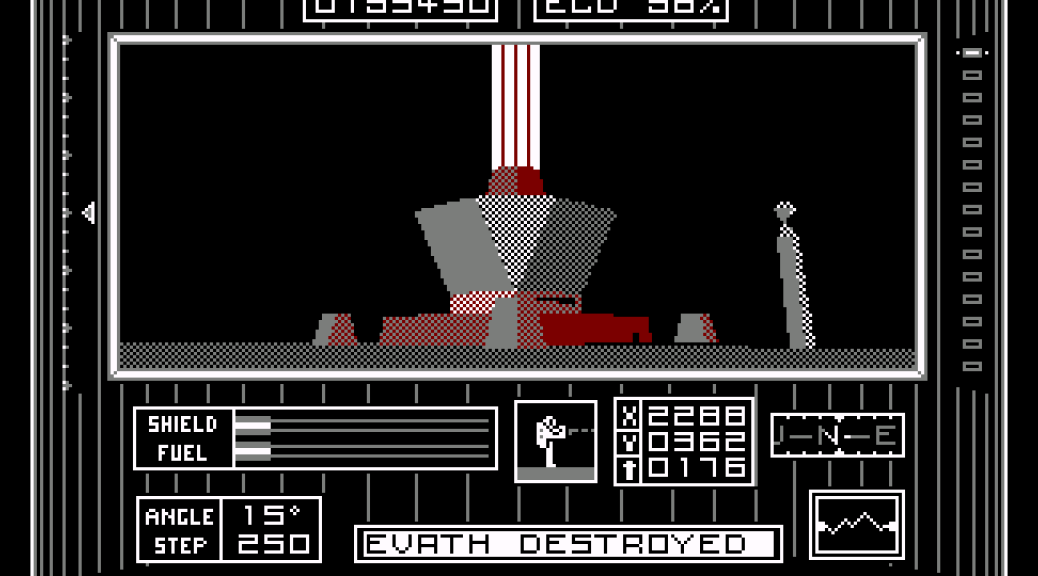 Dark Side Amstrad CPC version