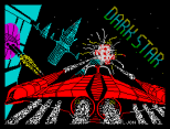 The amazing Dark Star ZX Spectrum Loading Screen by Design Design