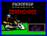 Micromega Presents... A classic! Deathchase ZX Spectrum Loading Screen