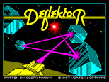 Deflektor by Vortex Software ZX Spectrum Loading Screen