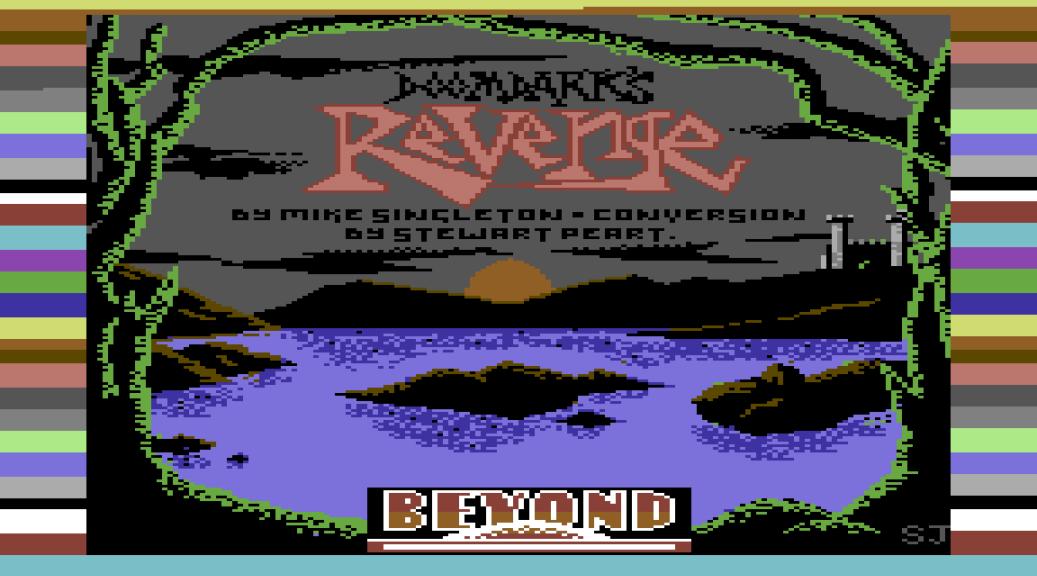 Doomdark's Revenge C64 Loading Screen
