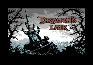 Dragon's Lair Commodore 64 Loading Screen