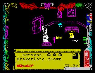 Dragontorc ZX Spectrum