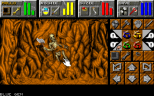 Found a skeleton embedded in the the cave wall...