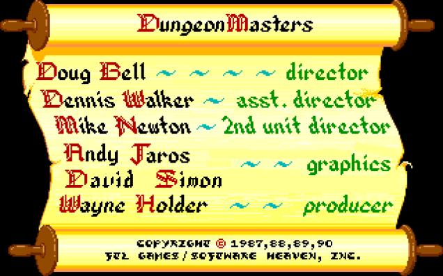 Dungeon Master PC DOS 19