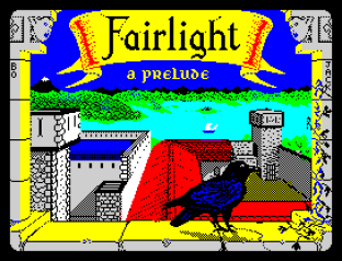Classy Fairlight: A Prelude ZX Spectrum Loading Screen by The Edge
