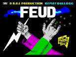 A Crash Smash! Feud by Bulldog ZX Spectrum Loading Screen