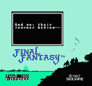 Final Fantasy NES 01