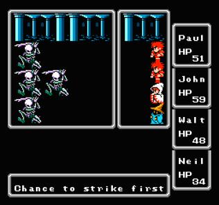 Final Fantasy NES 11