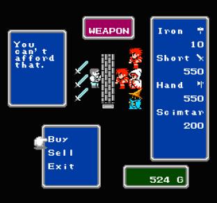 Final Fantasy NES 20