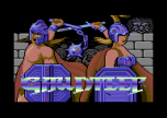 Gauntlet Commodore 64 Loading Screen