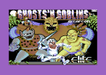 Superb Ghosts 'N Goblins Commodore 64 Loading Screen by Elite.