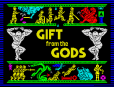 Denton Designs' Gift From The Gods ZX Spectrum Loading Screen, by Ocean