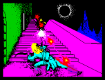 Halls of the Things by Crystal Computing ZX Spectrum Loading Screen