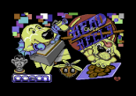 Head Over Heels C64 Loading Screen