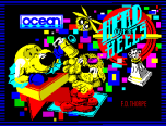 Head Over Heels by F.D. Thorpe for Ocean Software - ZX Spectrum Loading Screen