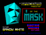 I Of The Mask by Sandy White for Electric Dreams Software, ZX Spectrum Loading Screen