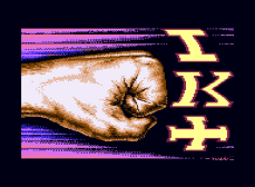 International Karate Plus, C64 Loading Screen